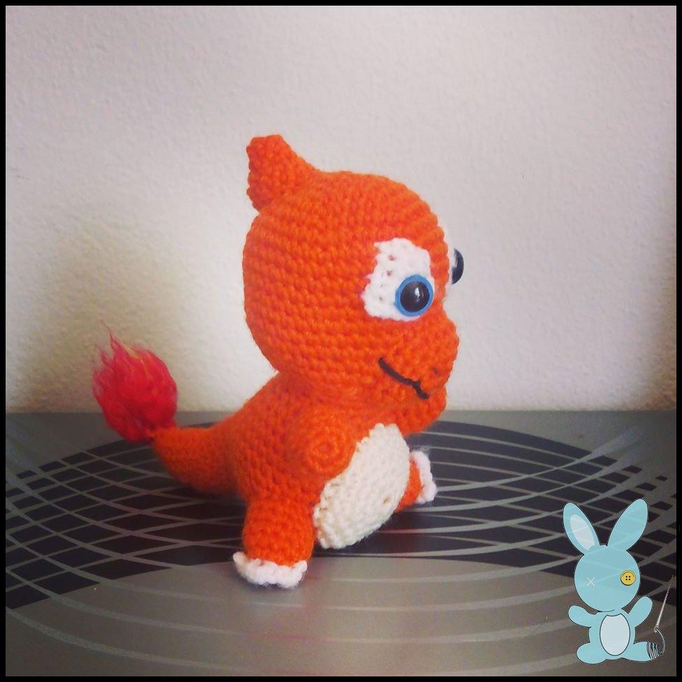 Pokemon Charmeleon Amigurumi