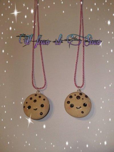 collane biscotti dell'amicizia in fimo