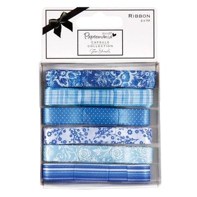 Set 6 nastri - Capsule Burleigh Blue