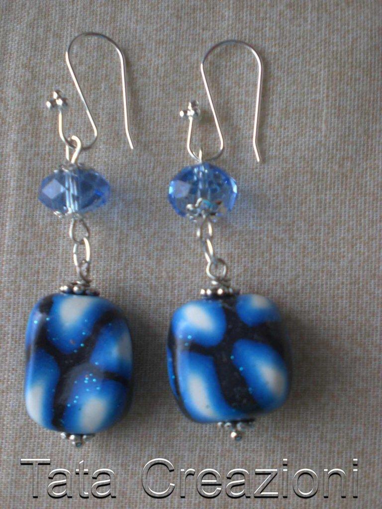 Orecchini Varie Blu