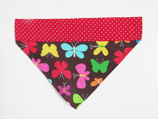 Bandana per cani  fantasia farfalle