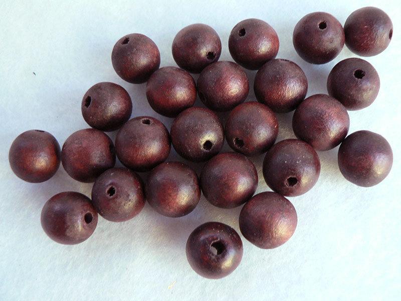 Perle in legno.