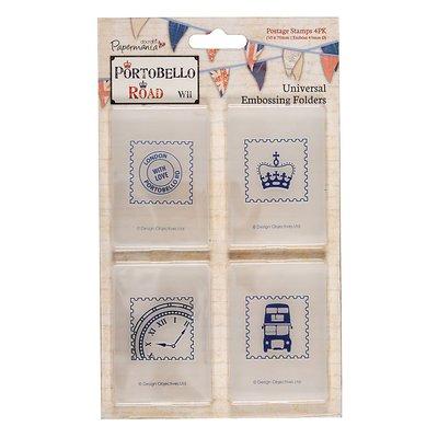 "Fustelle per embossing - Portobello Road ""Postage Stamps"""