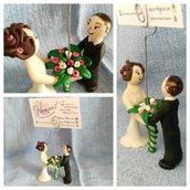 Segnaposto / Portafoto matrimoniale
