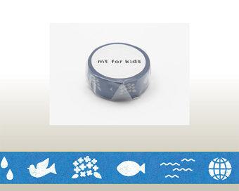 Washi Tape - Color Blue
