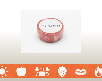 Washi Tape - Color Red