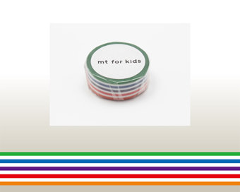 Washi Tape - Colorful Border