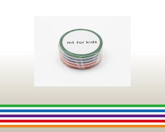 Washi Tape - Colorful Border