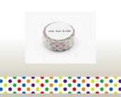 Washi Tape - Colorful Dot