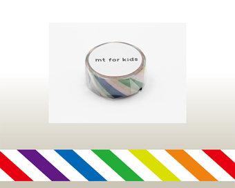 Washi Tape - Colorful Stripe