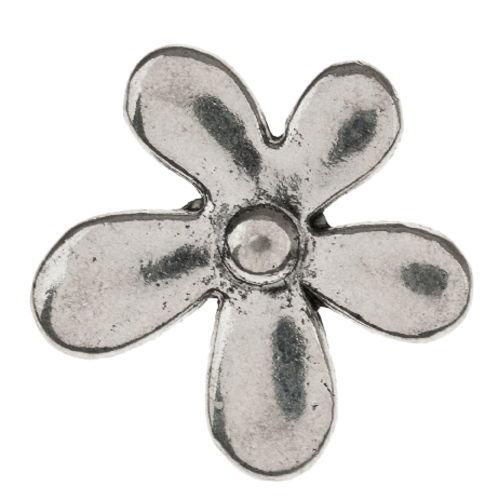 Elemento decorativo di metallo - Fiore