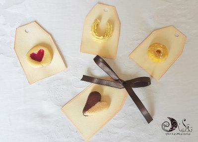 Bomboniere Matrimonio Biscotti segnaposto profumati personalizzabili