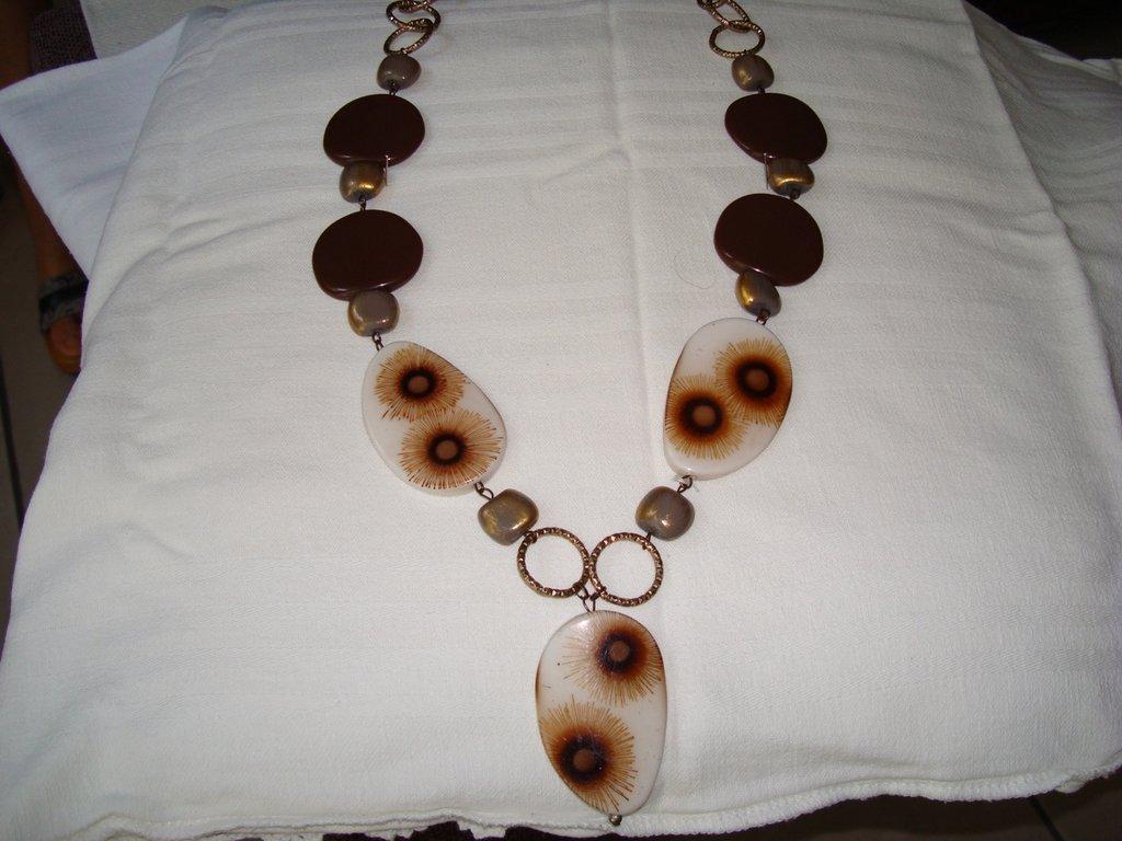 Collana girasole