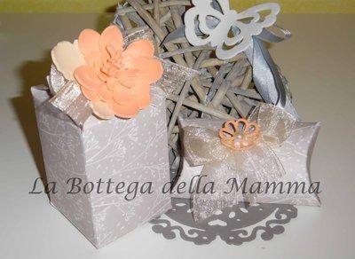 Scatoline portaconfetti handmade per battesimi, comunioni, cresime e matrimoni.