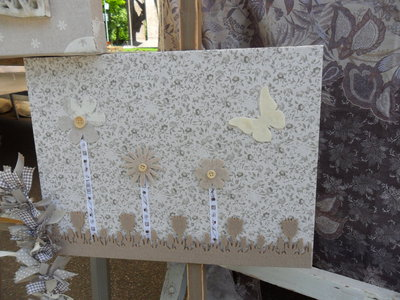 quadretto romantico beige