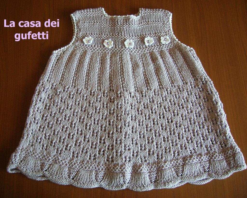 Ferri Per la per Vestiti » maglia Ai maewe di marica Vestito Neonata 6Zq6faw