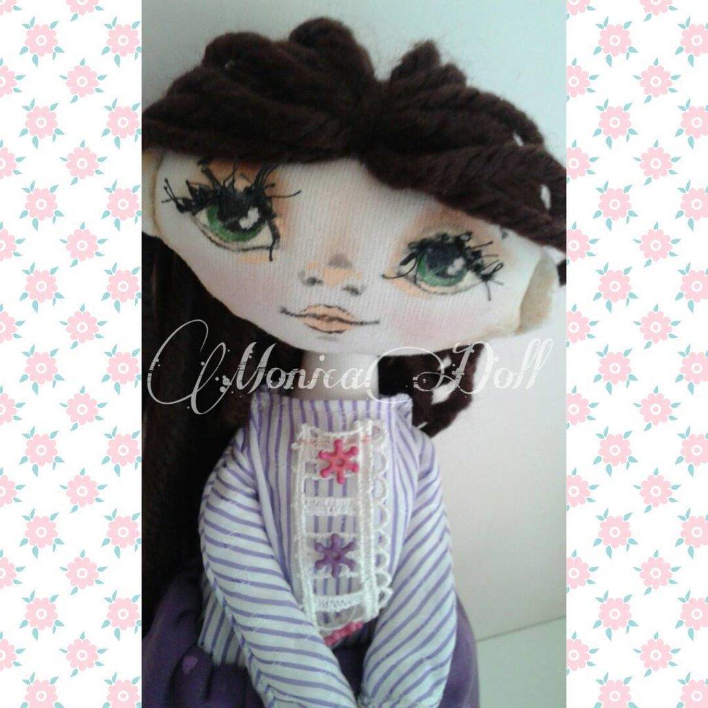 Lavinia: bambola di stoffa