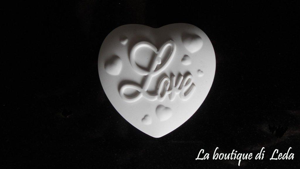 """GESSETTO PER BOMBONIERA """"LOVE"""""""