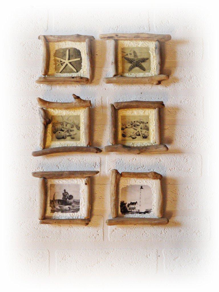 Immagini quadretti con legni di mare per la casa e per for Legni di mare arredamento
