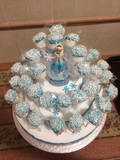 Torta Marshmallow Elsa Di Frozen Feste Decorazioni