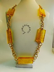 #Collana #resina #alluminio #Lemanimanie