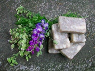 Sapone alla menta e argilla verde rinfrescante