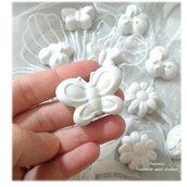 40 pezzi gessetti profumati farfalla