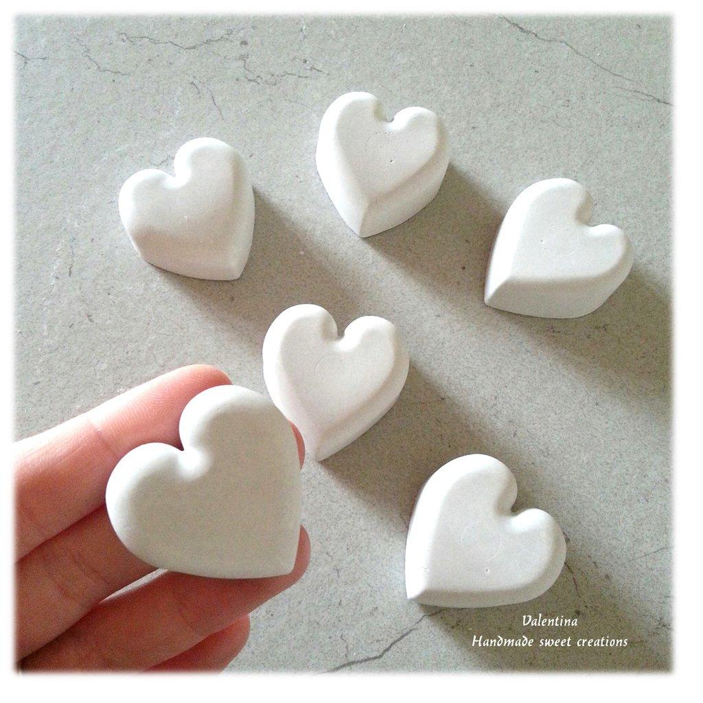 gessetto cuoricino cuore segnaposto matrimonio