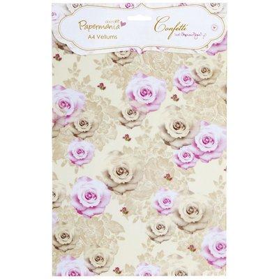 """A4 Vellum Pack - Confetti """"Bouquet"""""""