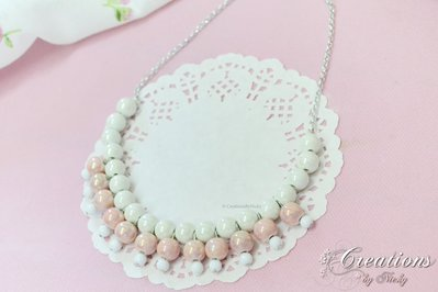 Collier in perle