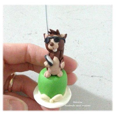 Segnaposto animali personalizzati professioni Matrimonio scoiattolo