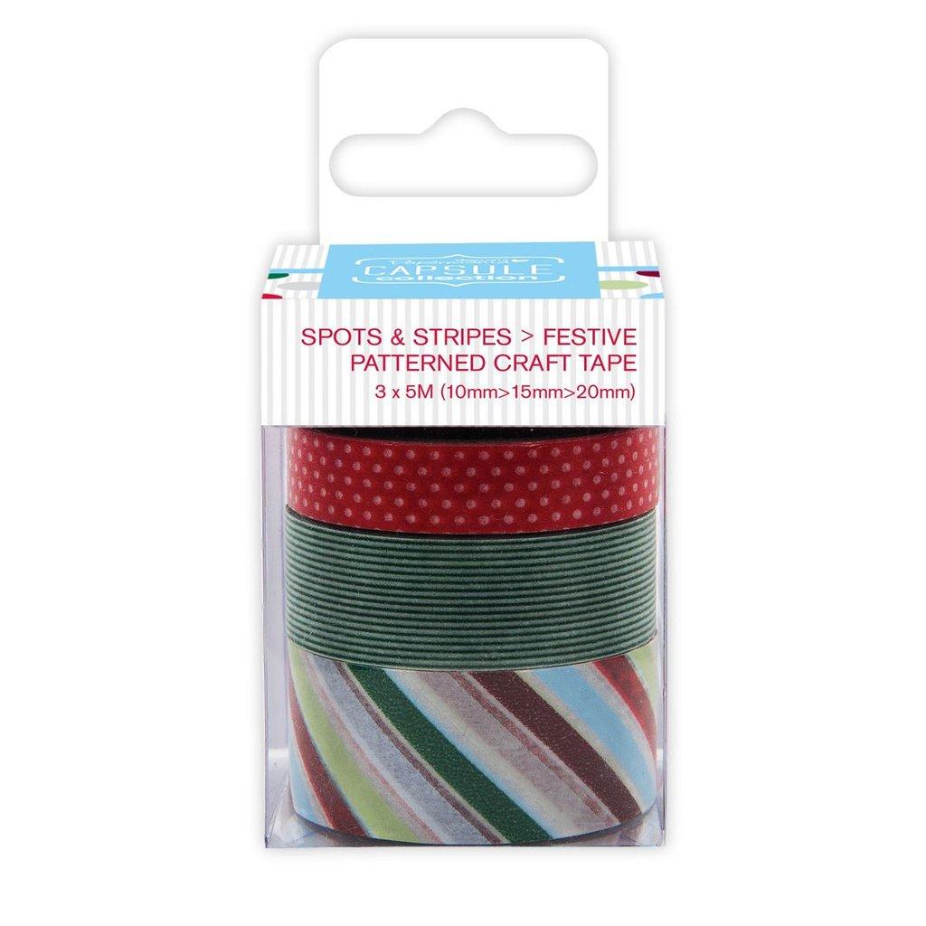 Craft Tape - Spots & Stripes Jewels