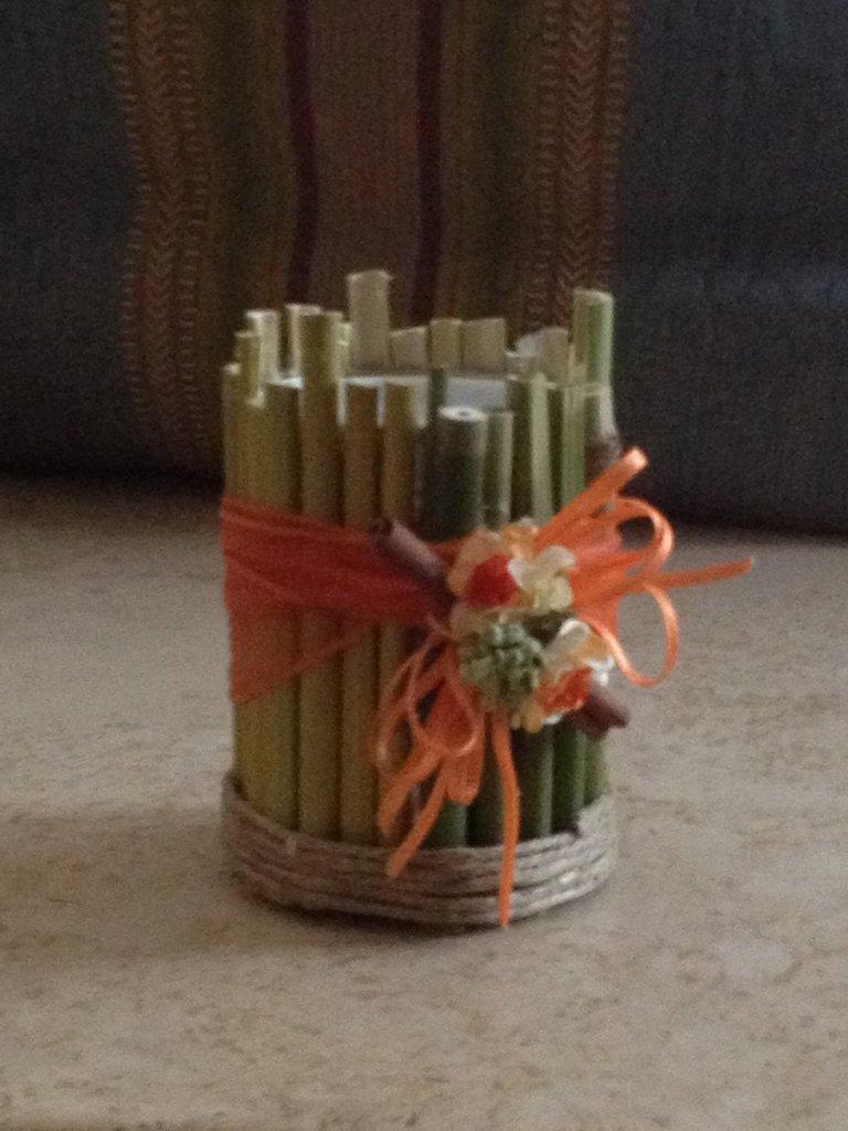 Vaso porta candela per la casa e per te arredamento for Porta candela
