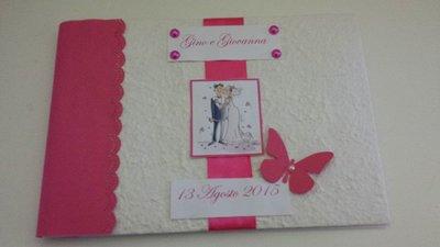 guestbook matrimonio fatto a mano