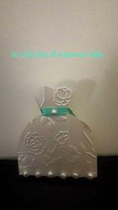 scatoline bomboniera portariso o confetti matrimonio battesimo comunione
