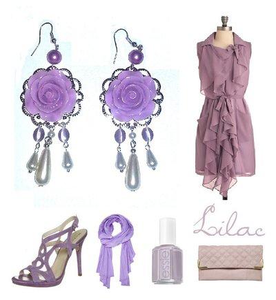 """Orecchini """"Purple roses"""" victoriani con rosa viola lilla, perle e occhio di gatto"""
