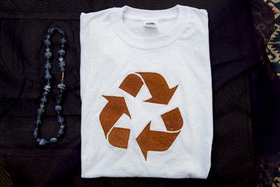 T-shirt 100% Organic RECICLE - Bianca unisex (Taglia M)