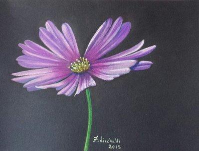 disegno fiore lilla