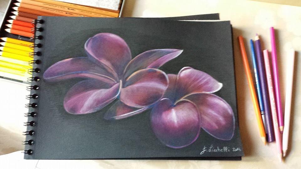 disegno fiori tropicali