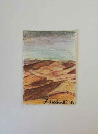 Aceo n. 8 - paesaggio