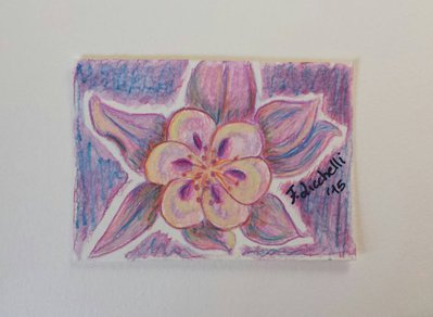 Aceo n. 9 - floreale