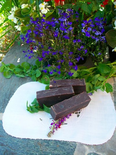 Sapone cioccolato e riso alla menta