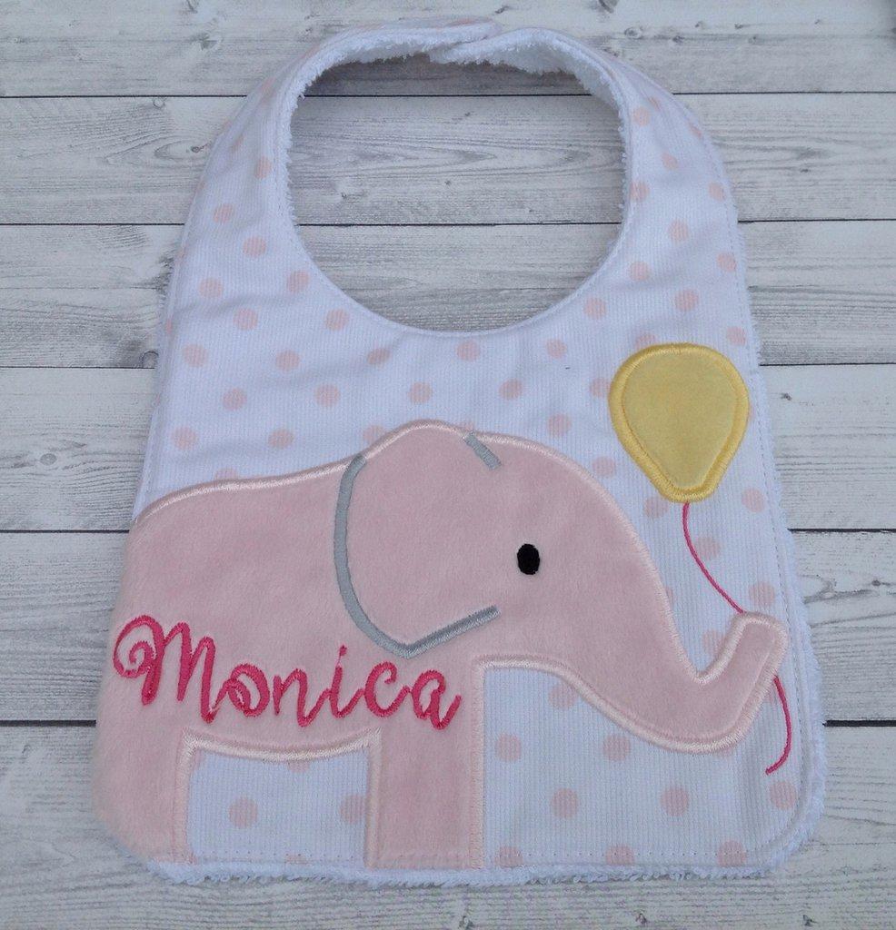 Bavaglia Elefante personalizzata con nome