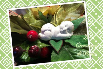 Gessi gessetti profumati neonato bomboniera battesimo nascita segnaposto