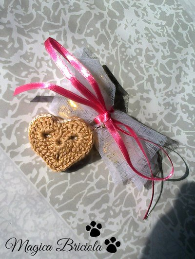 Bomboniera con biscotto charm