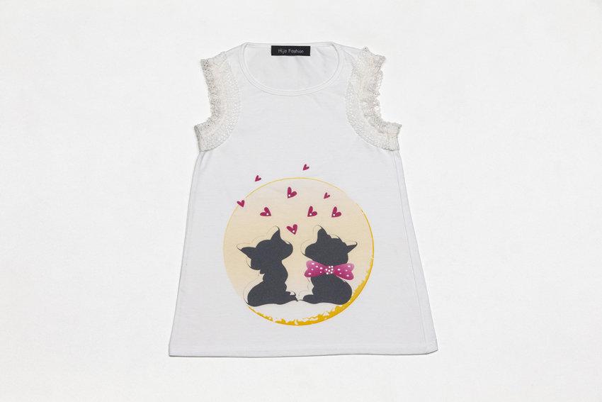 T-shirt gatti innamorati