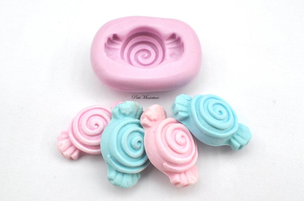 Stampo silicone Flessibile Fimo - Stampo caramella -Stampo Caramella Dolce ST138,kawaai,dolce,gioielli fimo,cabochon,gioielli