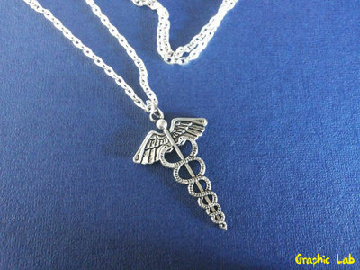 Collana con Simbolo del dio Ermes Hermes Percy Jackson