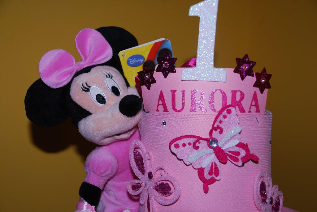 torta di pannolini primo anno