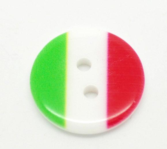 Set 10 bottoni - Italia